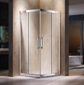 EKL22不鏽鋼方形推拉淋浴房